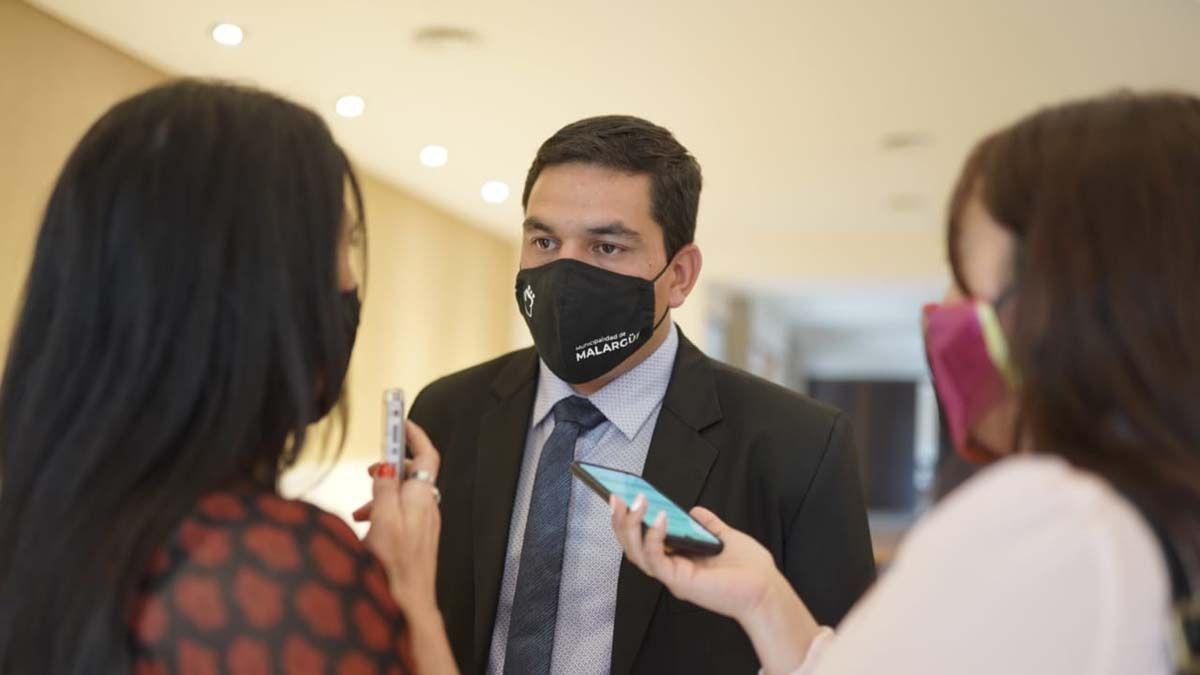 Juan Manuel Ojeda. El intendente de Malargüe busca frenar los contagios de Covid-19.