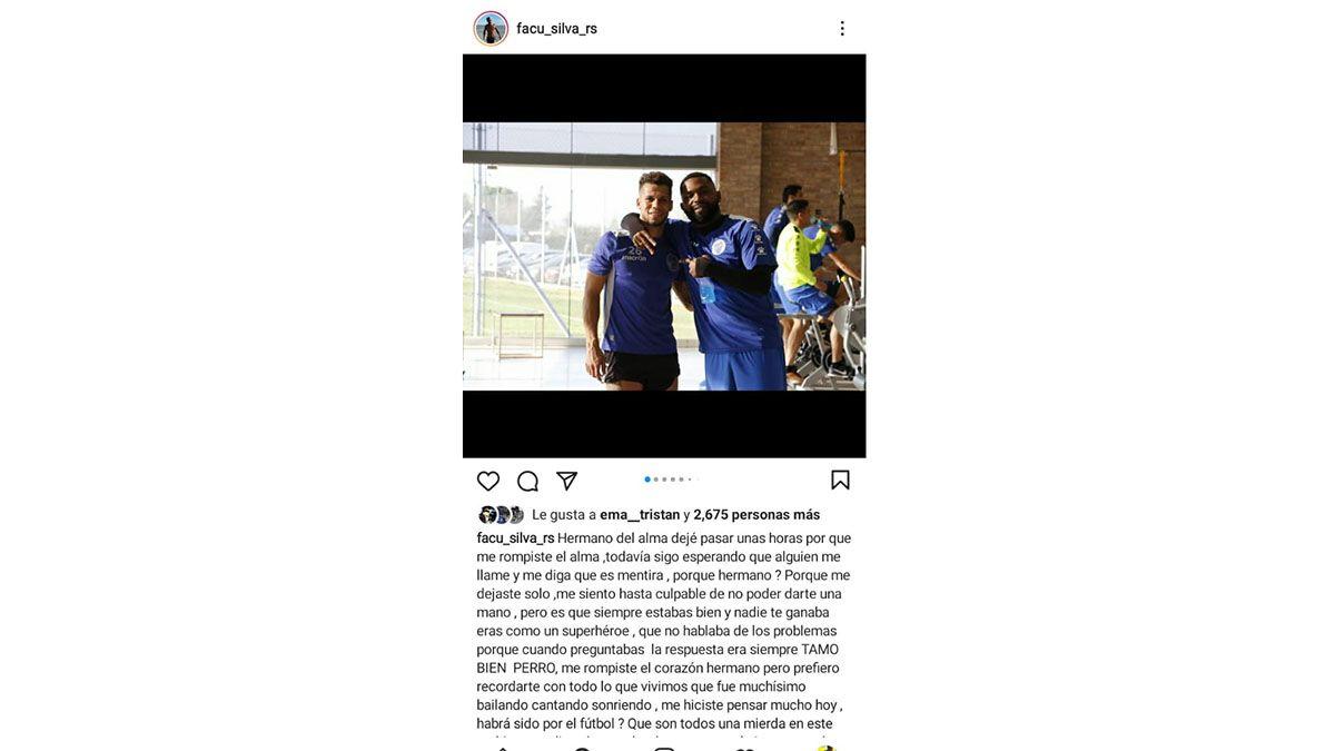 Un ex Tomba habló con el Morro García poco antes de su muerte
