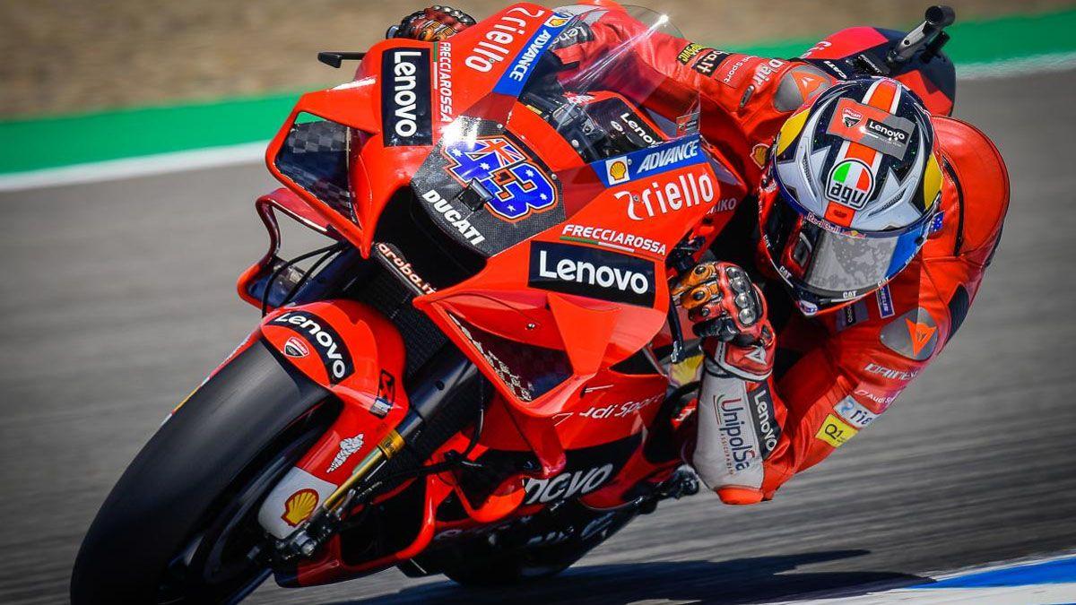 Jack Miller logró su primera victoria con Ducati
