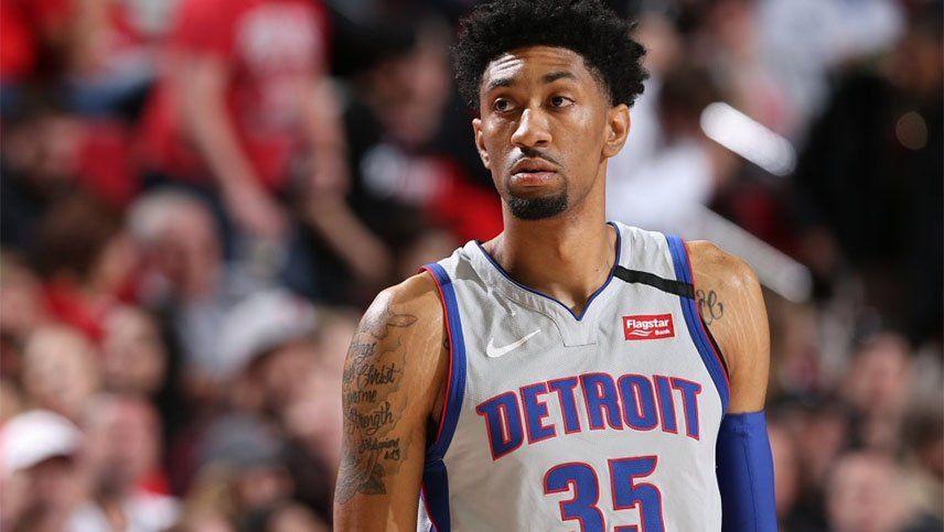 Wood, de Detroit Pistons, es el tercer jugador de la NBA que contrajo coronavirus