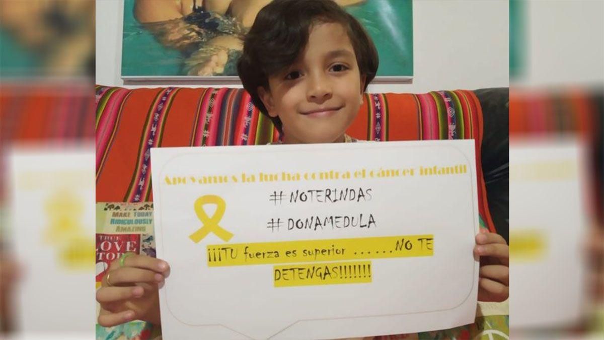 Impulsan una campaña de donación de médula ósea para niños con cárncer