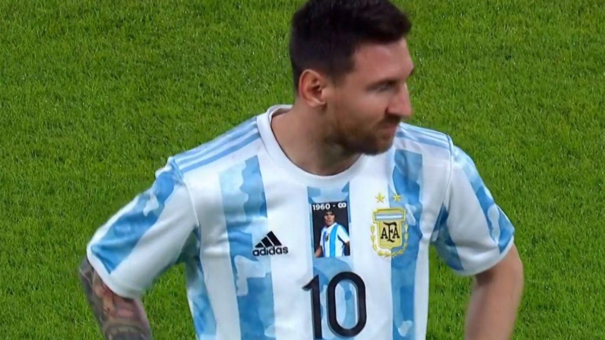 Argentina y Maradona, un sólo corazón