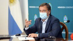Rodolfo Suarez anunció un bono para el personal de Salud