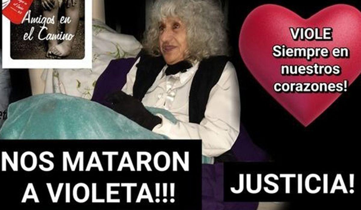 Violeta era una anciana en situación de calle muy querida por vecinos de Recoleta. Fue asesinada por un joven que quiso robarle dinero