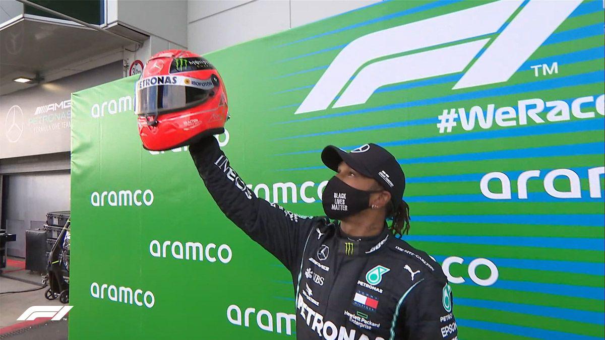 Hamilton: Nadie puede igualar a Schumacher