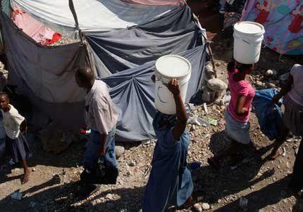 El terremoto aplastó a los pobres de Haití