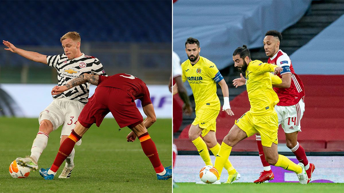 Manchester United y Villarreal, finalistas de la Europa League