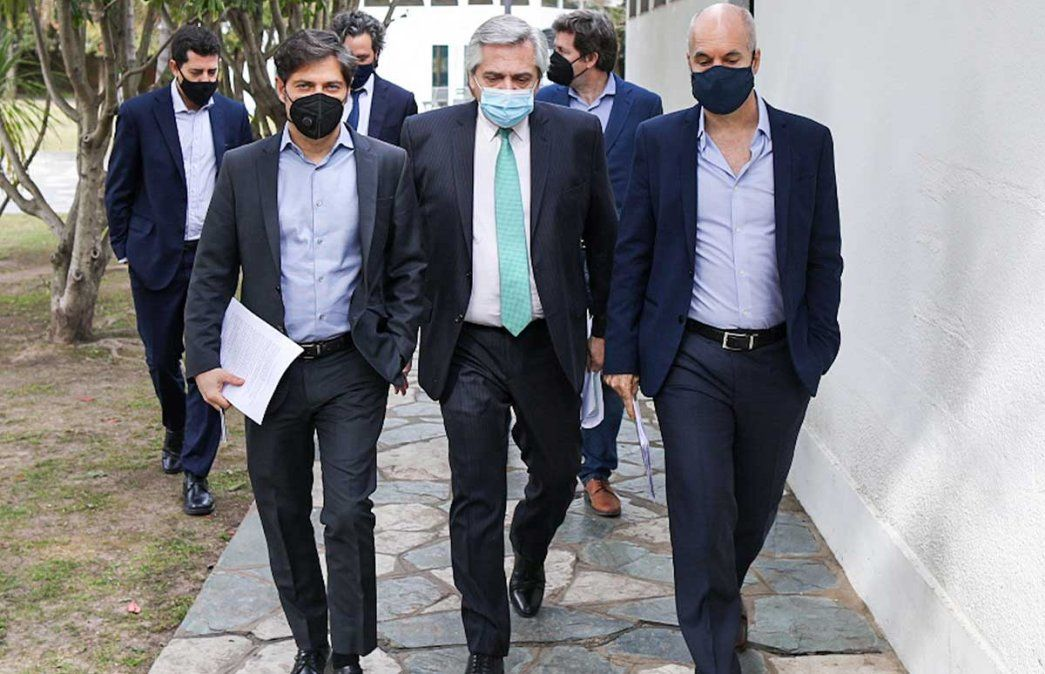 Alberto Fernández convocó al jefe de Gobierno porteño