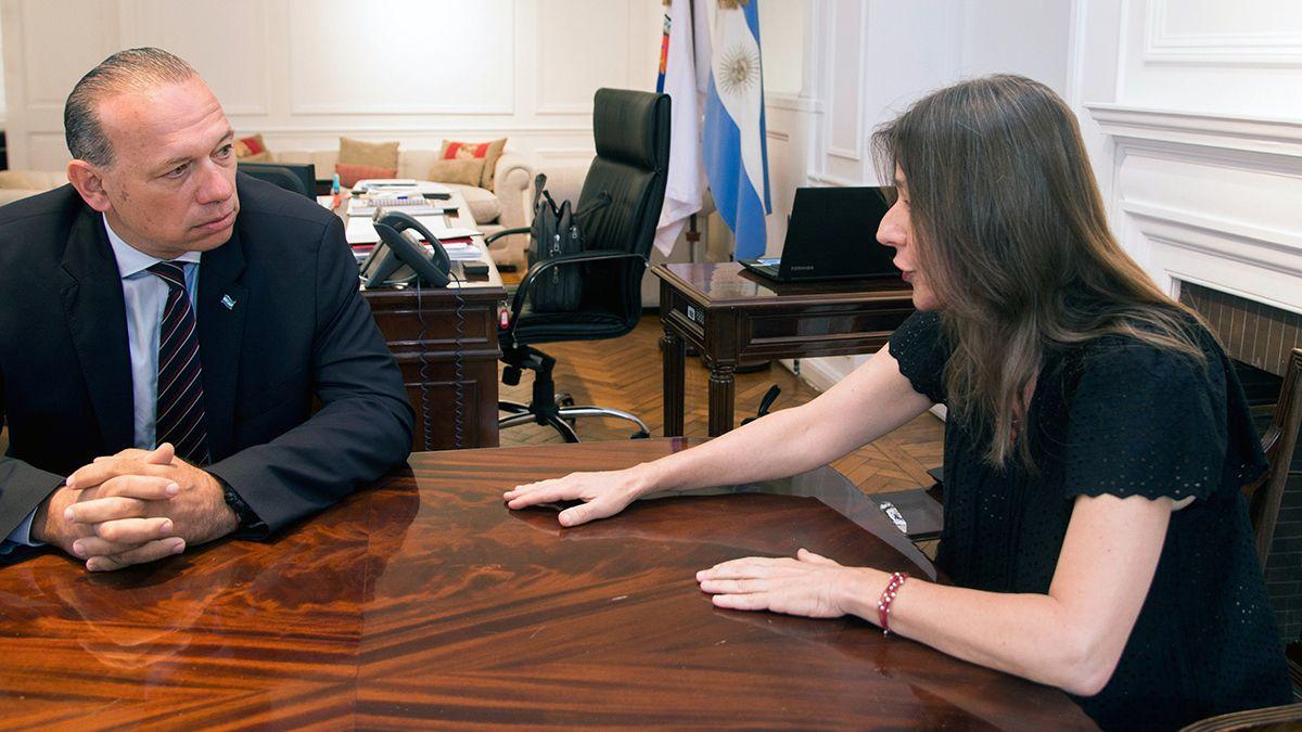 Sergio Berni y Sabina Frederic están enfrentados desde el inicio de la gestión.