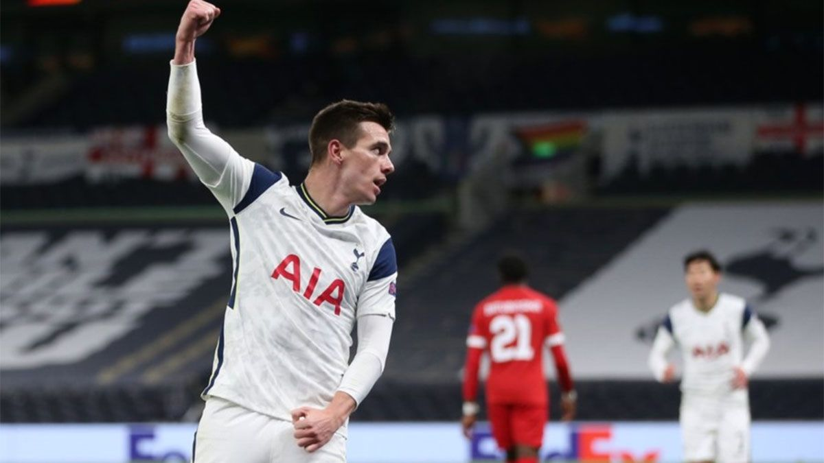Tottenham, con un gol de Lo Celso, ganó y se clasificó