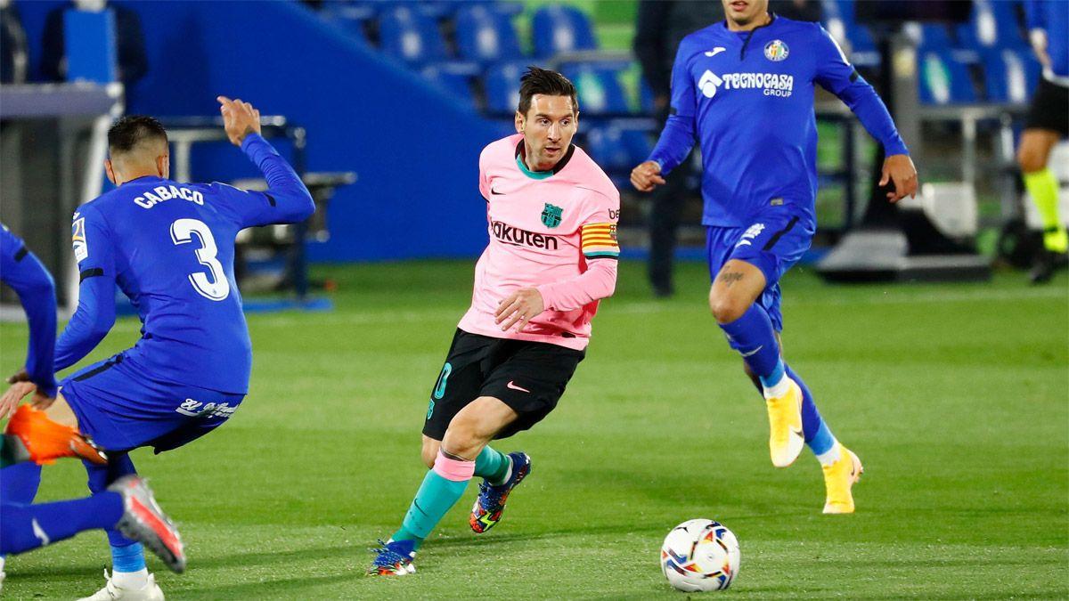 Barcelona, con Messi, perdió 1-0 ante el Getafe