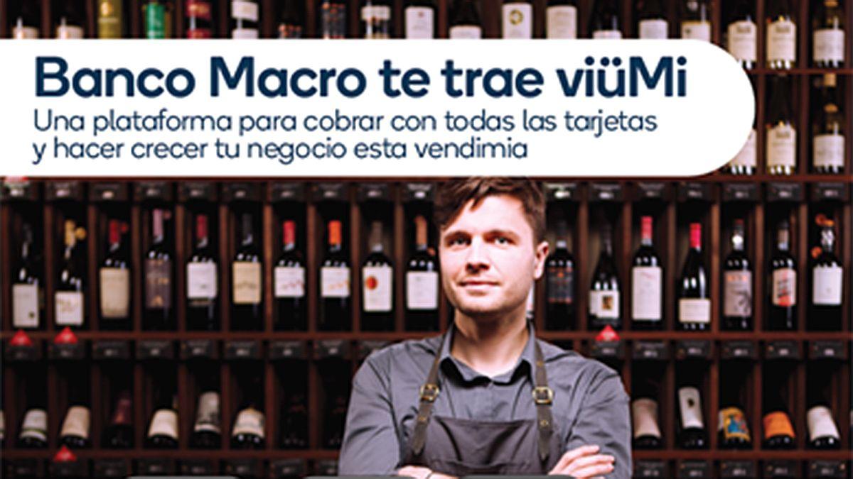 Banco Macro presenta viüMi y Macro Click de Pago.
