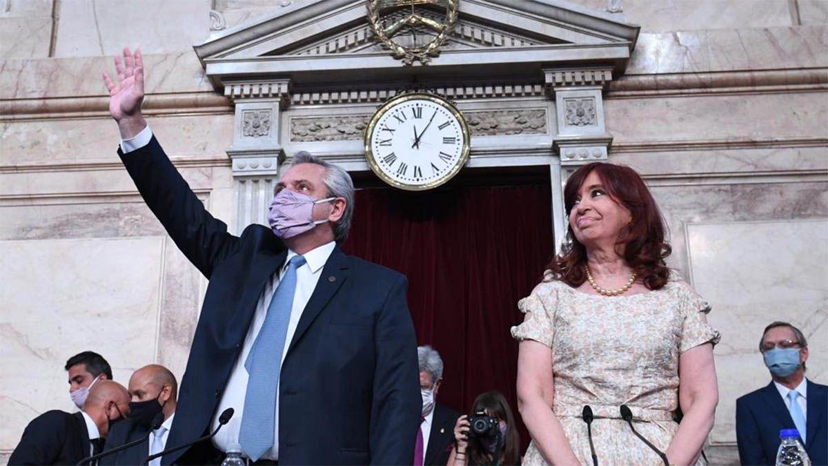 Vacunas, pandemia y oposición: los ejes del discurso de Alberto Fernández