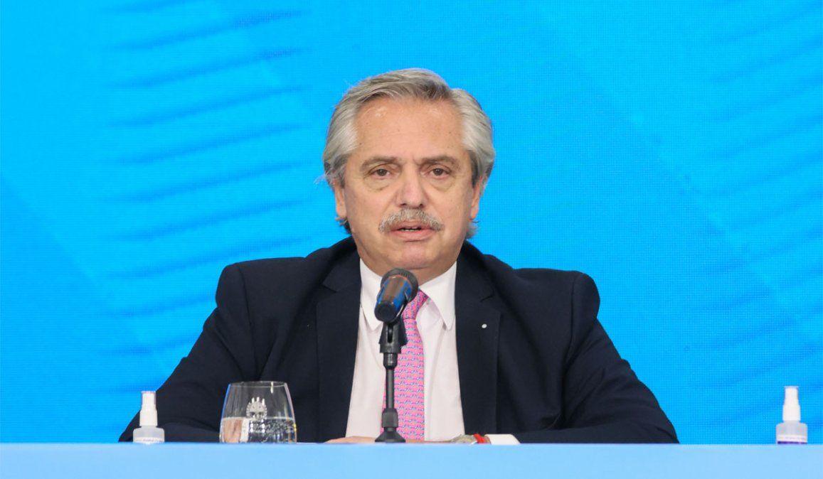 A qué hora habla el presidente Alberto Fernández