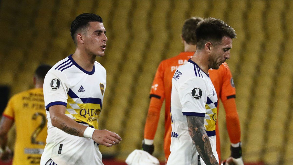 Boca perdió ante Barcelona el invicto y el liderazgo