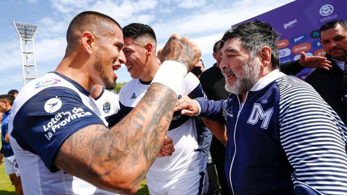 Maradona nos trataba como si fuéramos sus hijos