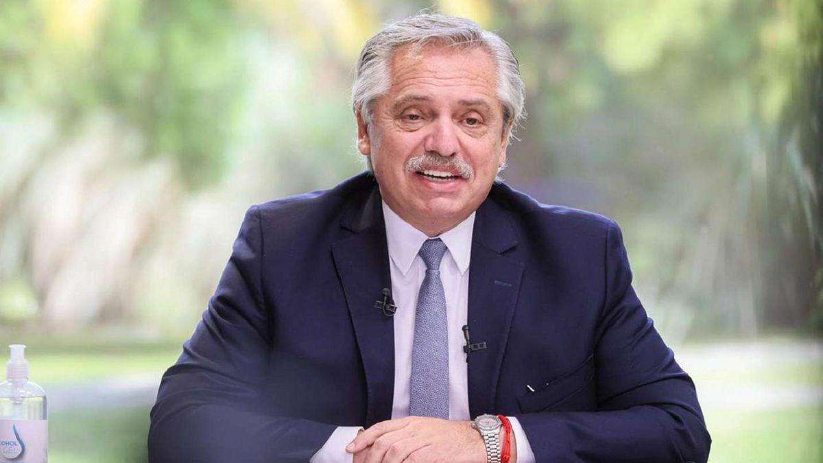Alberto Fernández : Con el personal de salud, solo gratitud tengo