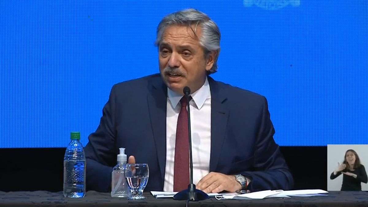 El presidente Alberto Fernández hizo los anuncios de la extensión del aislamiento desde Misiones.