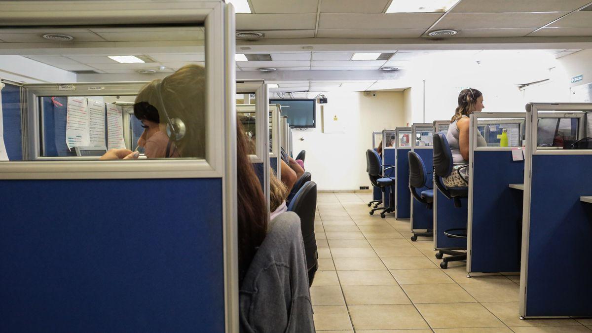 El Call Center 0-800-Covid para atender los llamados sobre dudas y consultas.
