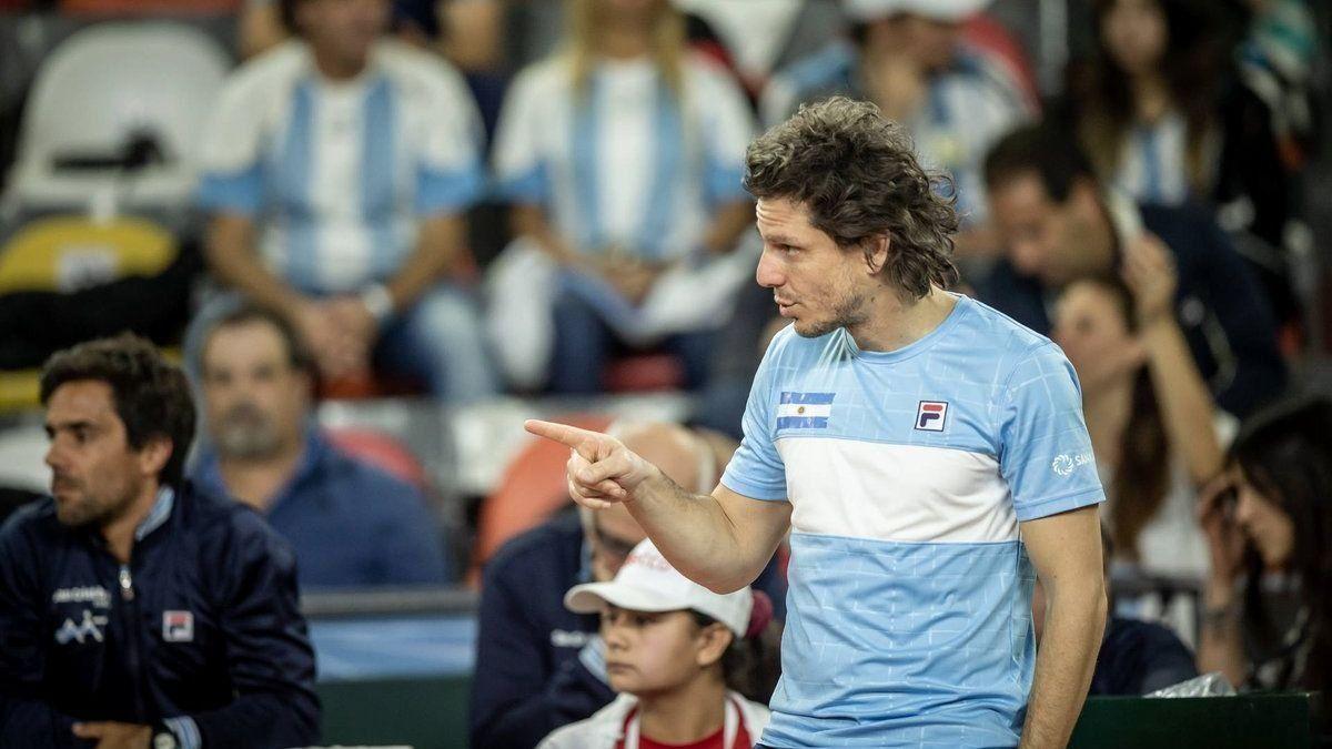 Gastón Gaudio es el capitán argentino de Copa Davis.