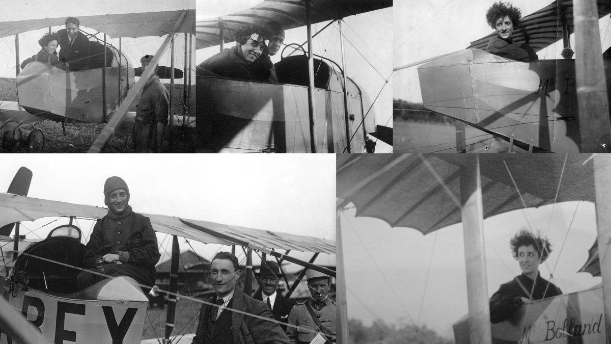 El 1°de abril de 1921 Adrienne Bolland