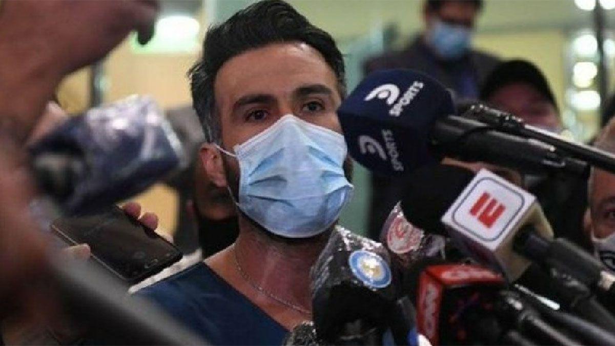 El médico de Maradona estuvo preso tras una pelea callejera