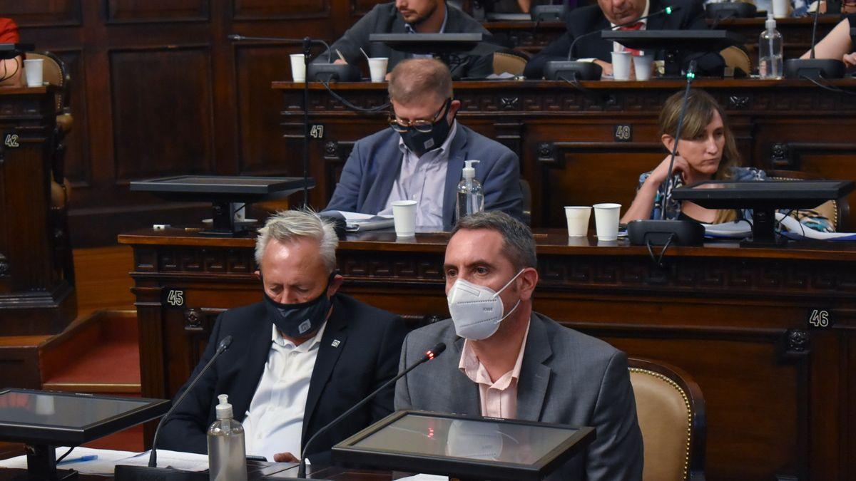 El diputado Jorge Difonso pidió que los fondos que envió la Nación para la obra de Portezuelo del Viento se destine a la compra de vacunas contra el coronavirus