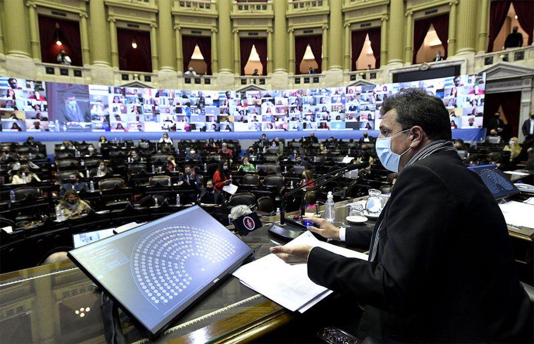 Sergio Massa es el presidente de la Cámara de Diputados de la Nación.