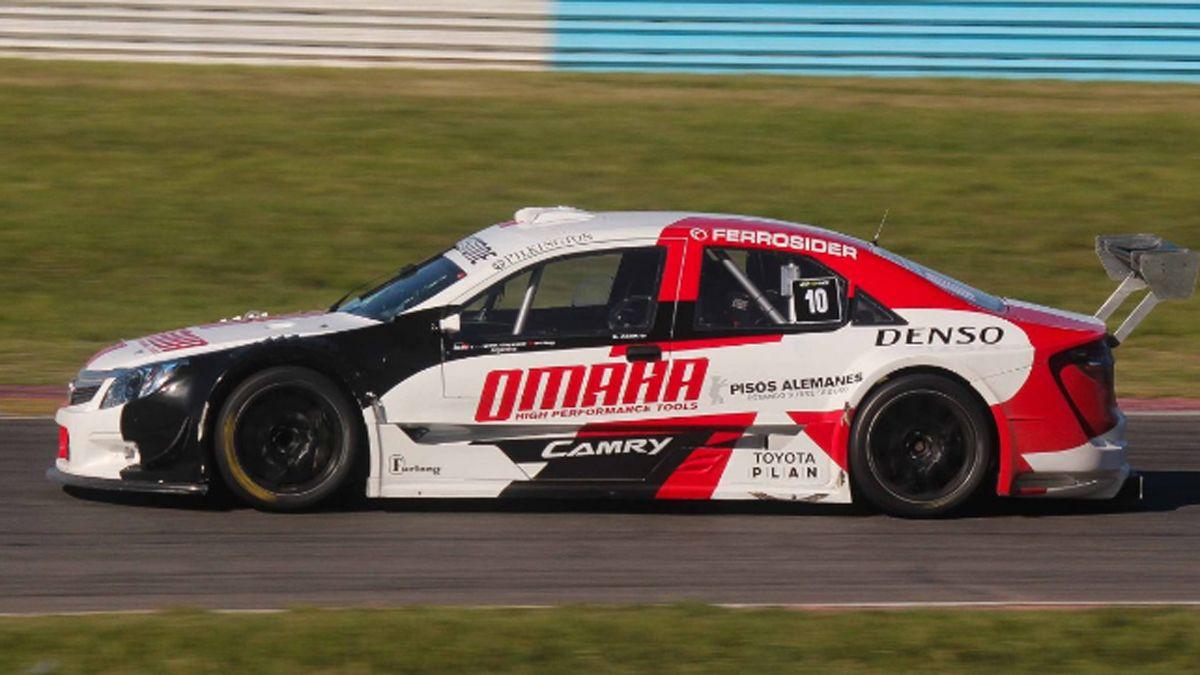 Toyota ingresará al TC en 2022 con el Camry que compite en Top Race