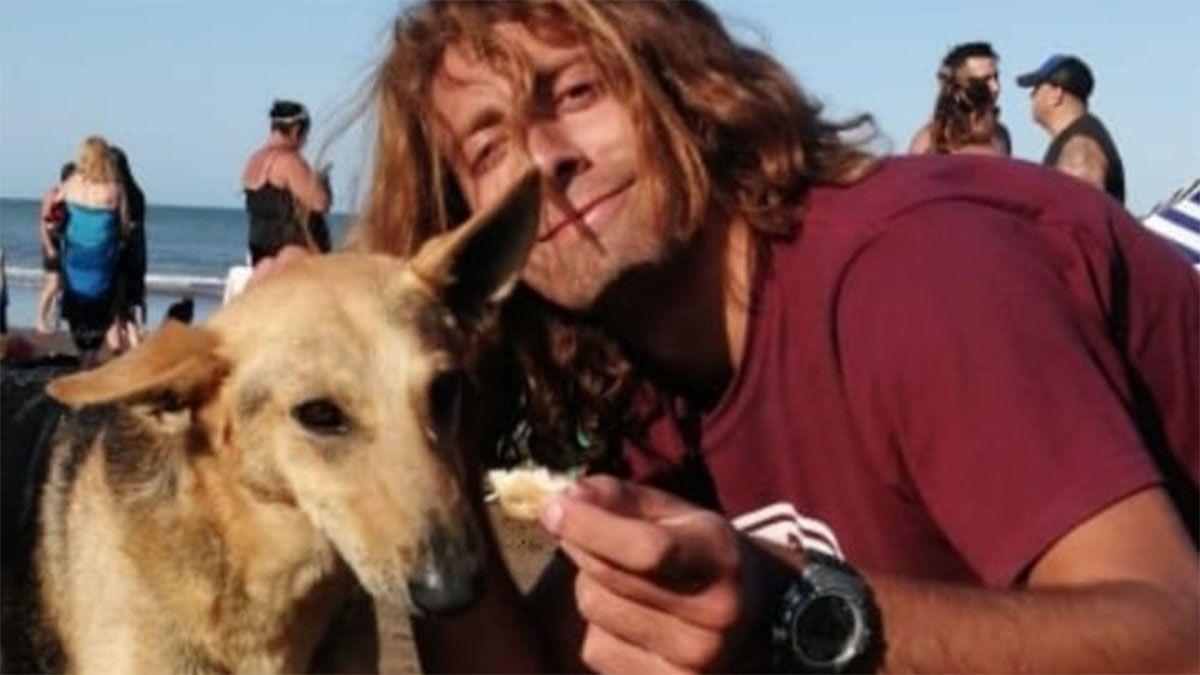 Franco Pokrajac, el joven que murió por salvar a un perro que había caído a un canal