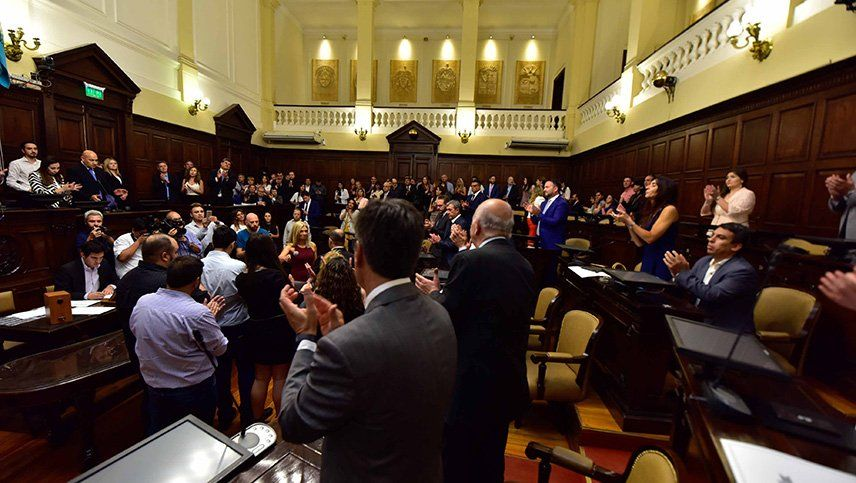 Una intensa crisis en el PJ frenó el tratamiento del Presupuesto provincial
