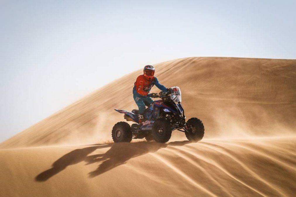 Nicolás Cavigliasso ganó la tercera etapa y está cerca de la punta del Dakar 2021.