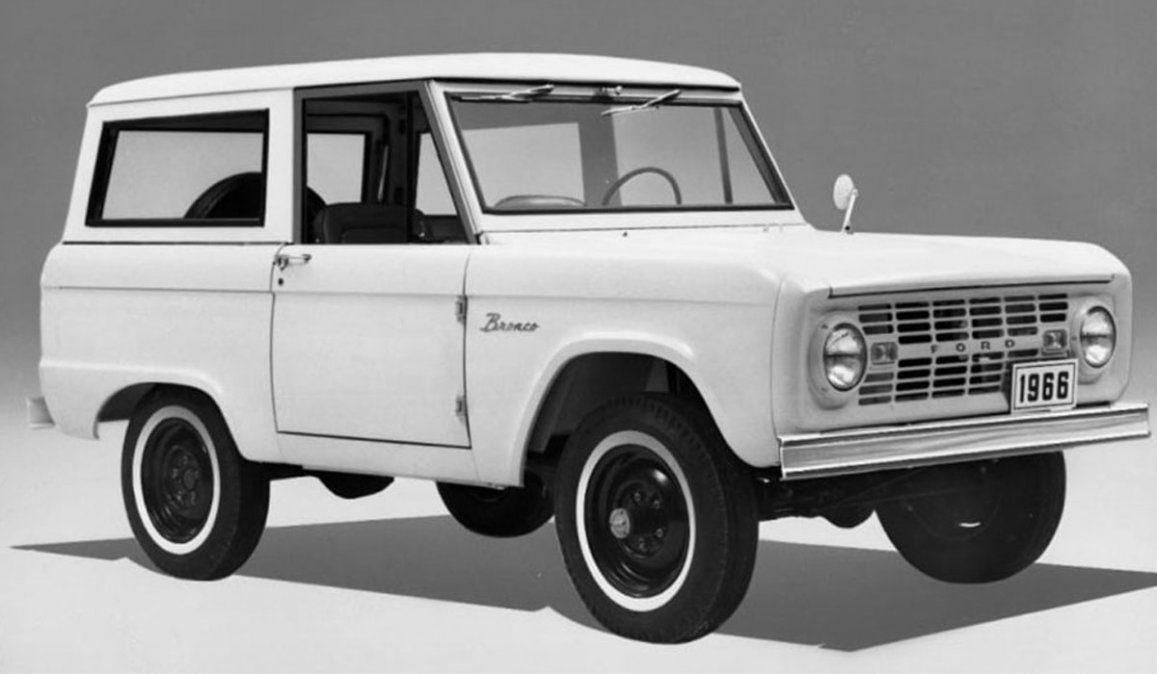 La Ford Bronco 1965 está de vuelta