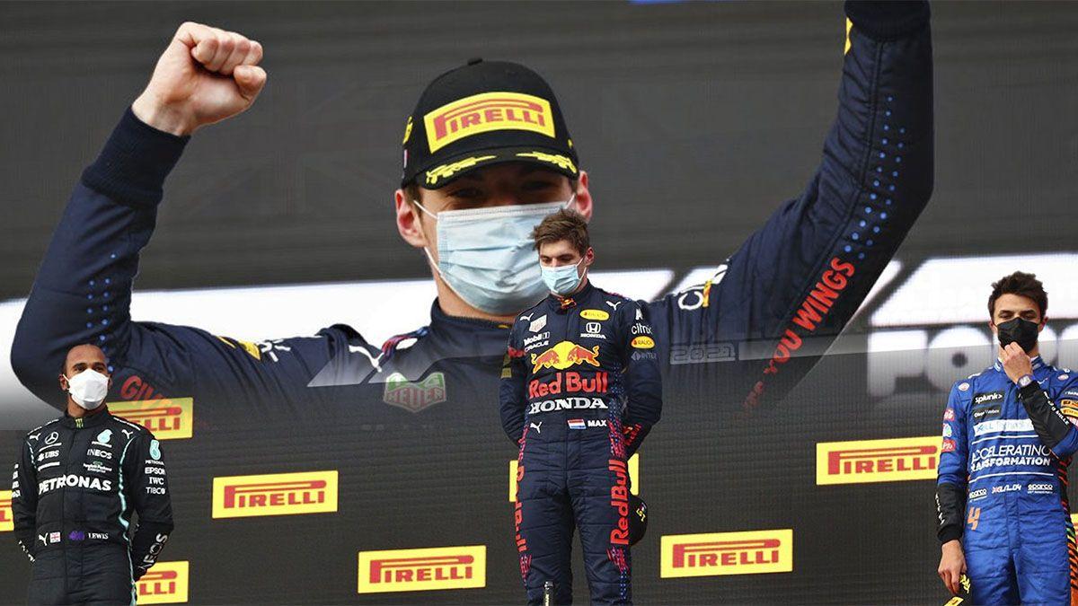 Verstappen se impuso en Italia con amplia ventaja sobre Hamilton
