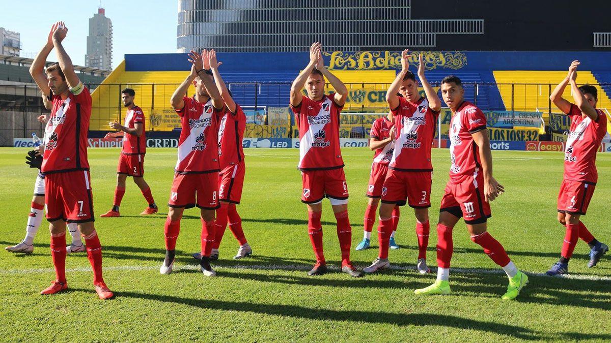 El último partido que jugó Deportivo Maipú fue de visitante ante Atlanta.