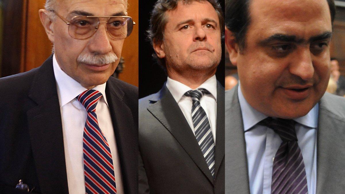 Los supremos de la Sala Segunda de la Corte: Valerio