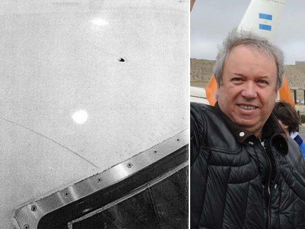 Balearon el avión de Santa Cruz y no descartan un mensaje mafioso