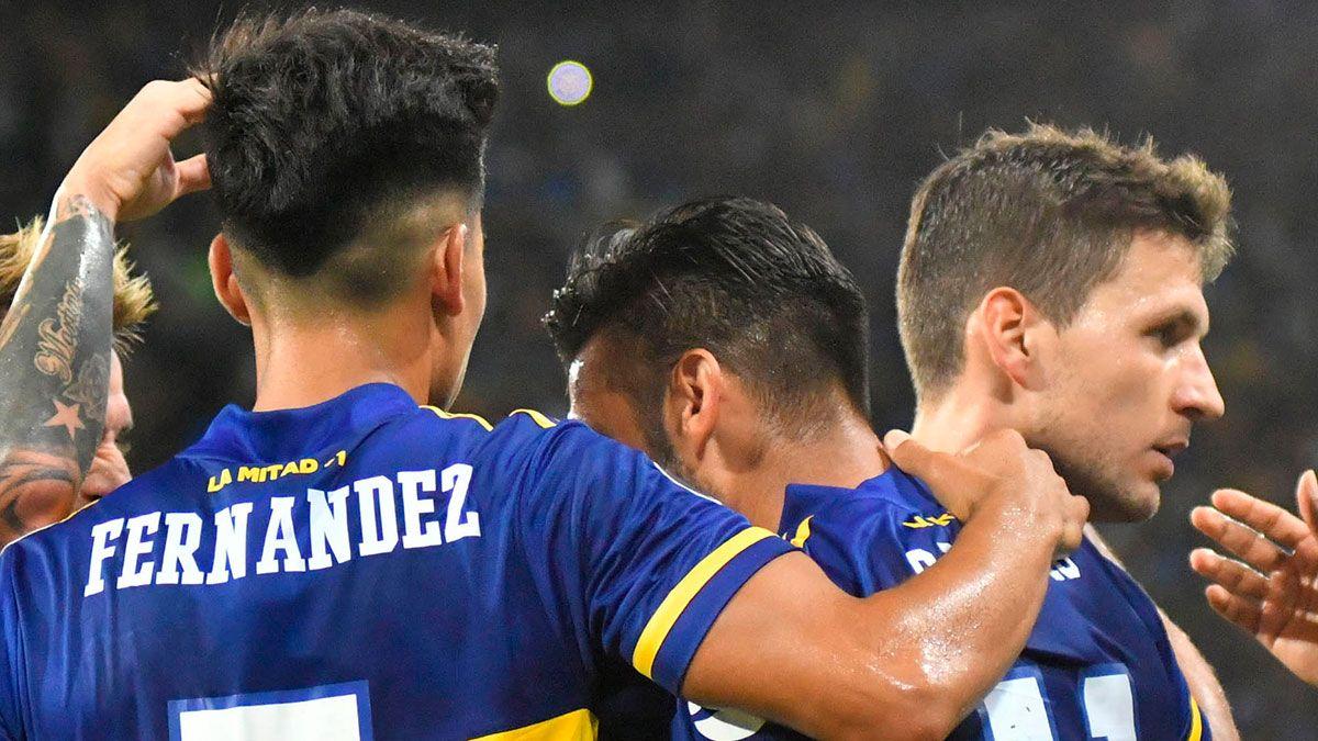 Los 21 futbolistas de Boca que viajaron a Paraguay