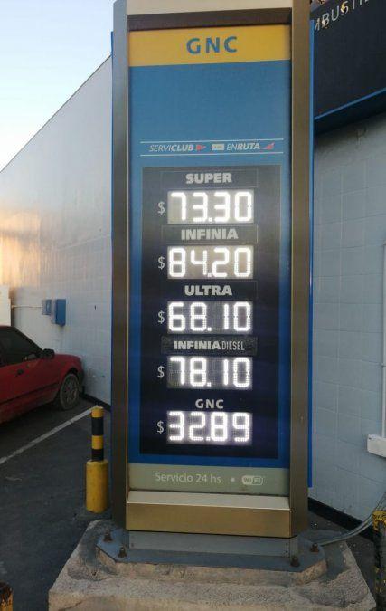 Doble aumento del precio de combustibles en YPF: así quedaron los precios