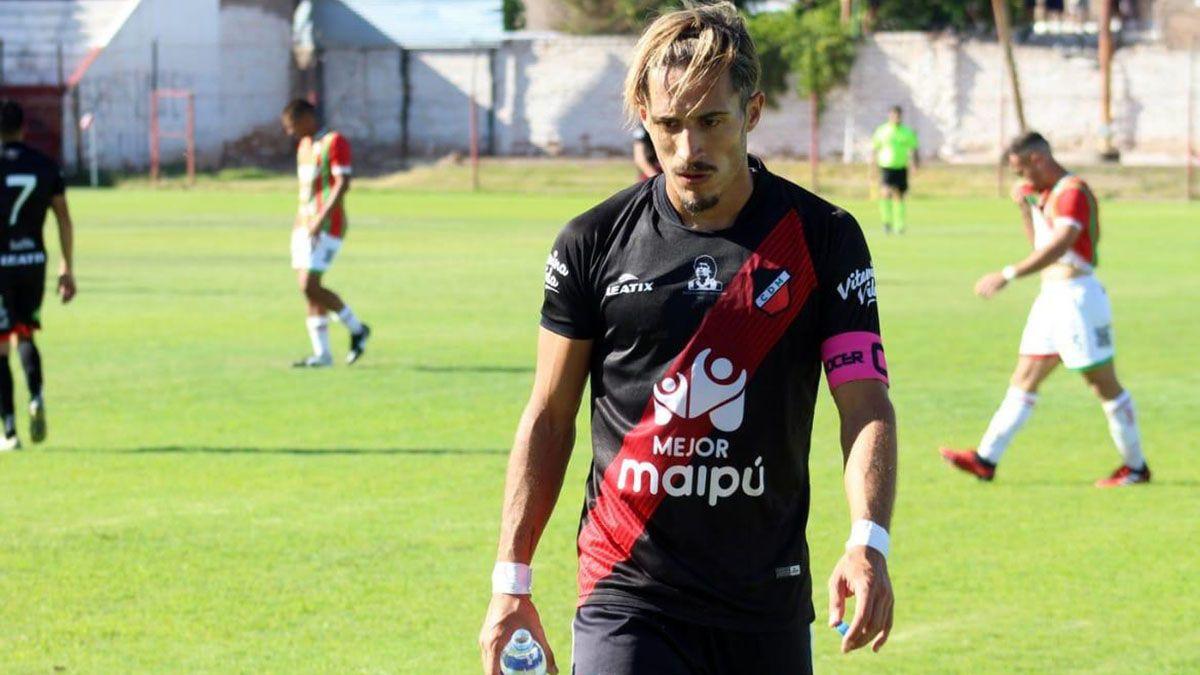 El jugador está muy metido en la semifinal ante Sarmiento de Resistencia.