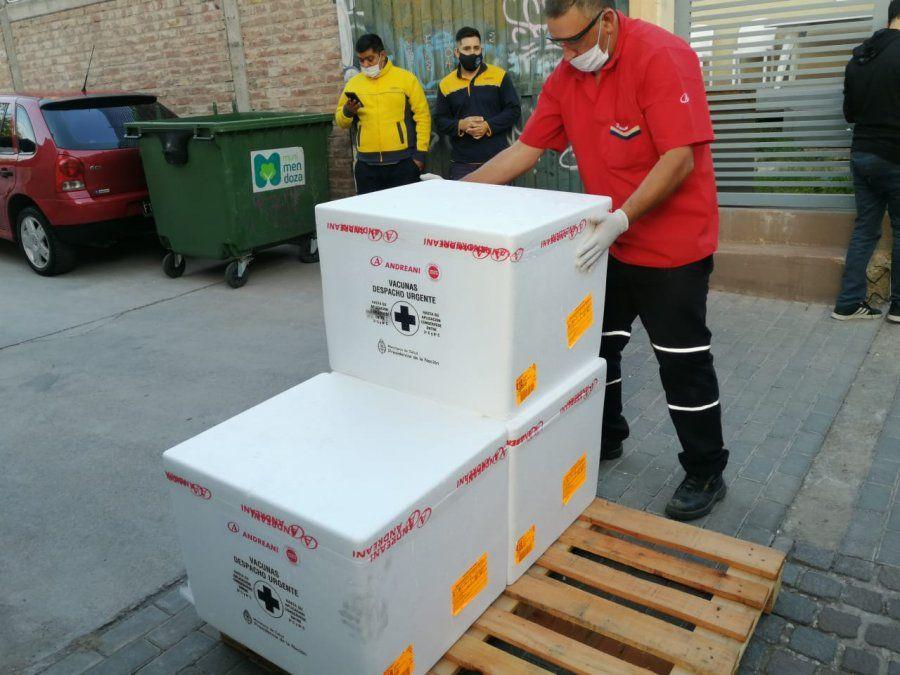 Este lunes llegaron a Mendoza 39.600 dosis de vacunas chinas que se destinarán a continuar con el esquema de vacunación docente.