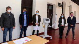 El club Godoy Cruz donó un respirador para la guardia del hospital Lencinas