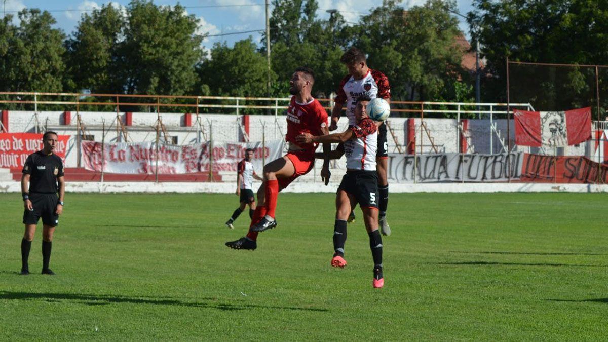 En un partido parejo ganó el equipo de Lucio Ramos.