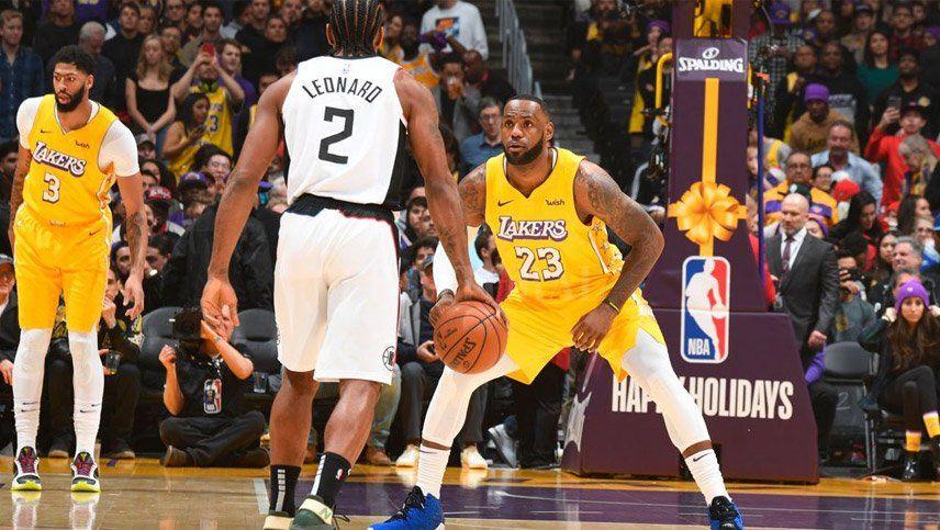 Los Clippers vencieron a los Lakers en el clásico angelino
