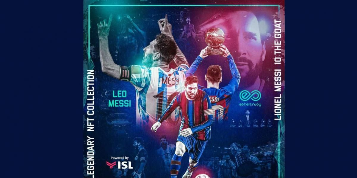 Lionel Messi espera batir récords con sus NFT.