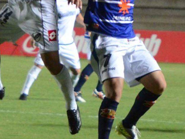 Unión de Villa Krause jugó ante Quilmes con medias del Barcelona y del City