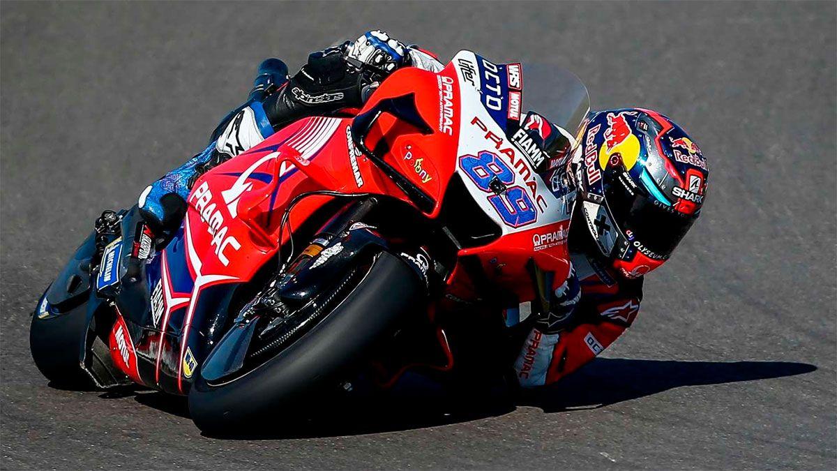 Durísimo accidente en los ensayos libres del MotoGP