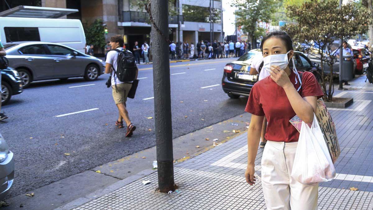Los casos de coronavirus en Argentina van en aumento.
