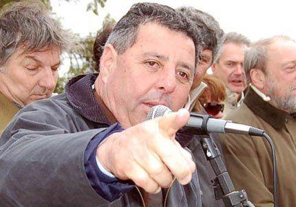 Alfredo De Angeli advitió que el campo podría volver a sublevarse
