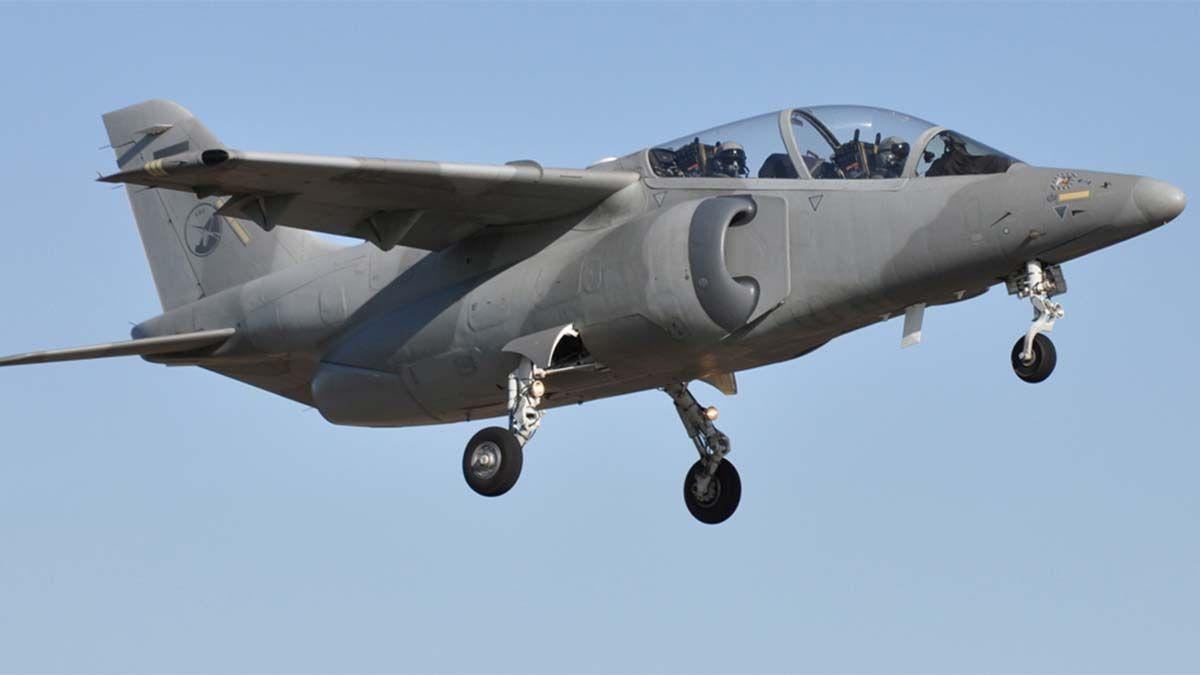 Durante la mañana de este jueves varios aviones Pampa llamaron la atención sobrevolando el cielo mendocino